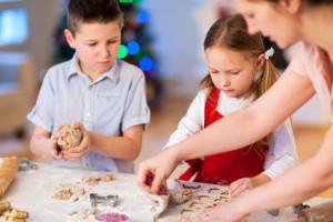 Pečení cukroví s dětmy
