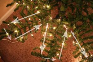 Světýlka na vánoční stromeček