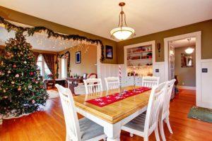 Vánoční výzdoba bytu
